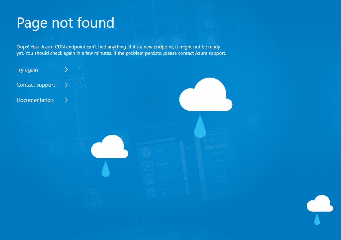 Azure CDN - InvalidUri Errors cover image